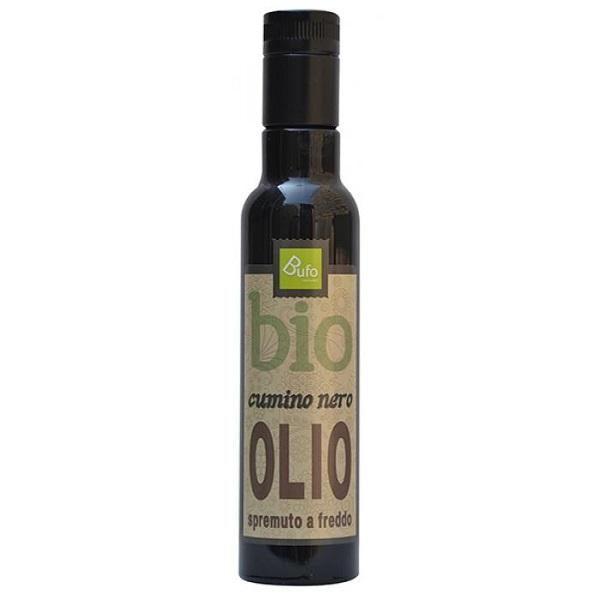 Olio di cumino nero, realizzato dalla spremitura dei semi della nigella sativa